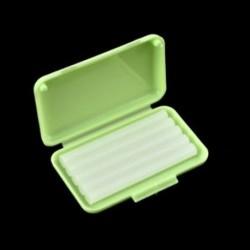 Zöld (alma íz) 1Pack fogászati fogszabályozás Ortho viasz gyümölcs illat kefék konzerv gumi védő