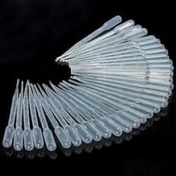 10db 3ML Eldobható Műanyag Szemcsepp Csúszókészlet Beállított Átmeneti Pipetták Új 10db 3ML Eldobható Műanyag