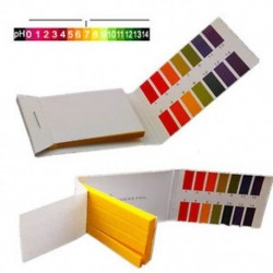 160 csík teljes tartományban pH 1-14 Alkáli sav teszt papír Víz Litmus tesztkészlet 160 csík teljes tartományban pH 1