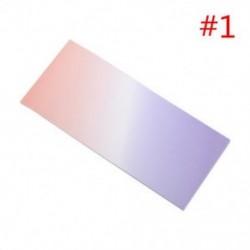 * 1 40x szivárványos színes öntapadó jegyzetek rajzfilm írása diák tanulmány papír jegyzetfüzet