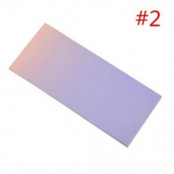 * 2 40x szivárványos színes öntapadó jegyzetek rajzfilm írása diák tanulmány papír jegyzetfüzet