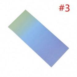 * 3 40x szivárványos színes öntapadó jegyzetek rajzfilm írása diák tanulmány papír jegyzetfüzet