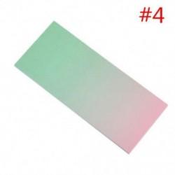 * 4 40x szivárványos színes öntapadó jegyzetek rajzfilm írása diák tanulmány papír jegyzetfüzet