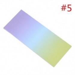* 5 40x szivárványos színes öntapadó jegyzetek rajzfilm írása diák tanulmány papír jegyzetfüzet