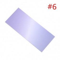 * 6 40x szivárványos színes öntapadó jegyzetek rajzfilm írása diák tanulmány papír jegyzetfüzet