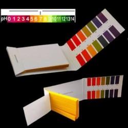 160 csíkok PH Litmus tesztkészlet Papír vizelet nyál savas alkáli akvárium tartály ÚJ 160 csíkok PH Litmus