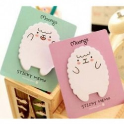 2 Állítsa be a Sheep Panda Memo Padot Öntapadó jegyzet Jegyzettömb Iskolai Irodaszerek Irodaszerek 2 Set Sheep Panda Memo