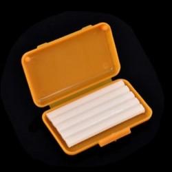 Sárga (narancs íz) 1 doboz fogászati ortodontika Ortho viasz a zárójel gumi irritációhoz Gyümölcs illat