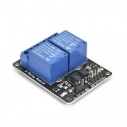 2 CH optocsatolóval (fekete) 1x 5V 1/2/4/8 csatorna relé kártya modul Optikai csatlakozó LED az Arduino PiC ARM AVR