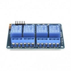 4 CH optocsatolóval (kék) 1x 5V 1/2/4/8 csatorna relé kártya modul Optikai csatlakozó LED az Arduino PiC ARM AVR