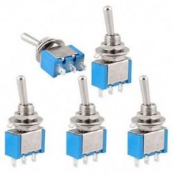 5db AC 250V / 3A 125V / 6A BE-KI 2 Helyzet el az SPDT önzáró kapcsolót 5db AC 250V / 3A 125V / 6A ON-OFF 2 Helyezze el az
