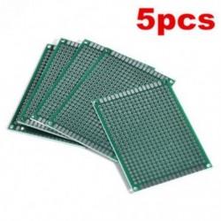 5db 5x7 cm-es duplaoldal nyomtatott áramkör PCB Vero prototípus nyomtatás Útmutató 5db 5x7 cm-es duplaoldalas nyomtatott
