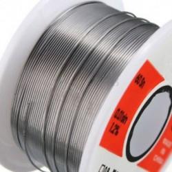10m-es finomforrasztóhuzal 0.6mm 60/40 2% Fluxus-tekercscső Tin-ólom Rosin Core Forrasztás 10m-es finomforrasztóhuzal