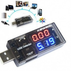 USB töltő doktor feszültség töltő érzékelő akkumulátor feszültségmérő mérőmérő USB töltő doktor
