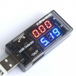 USB töltő Doktor Áramfeszültség töltőérzékelő Akkumulátor Voltmérő Ampermérő J USB töltő Doktor