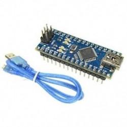 Mini USB Nano V3.0 ATmega328 16M 5V mikrovezérlő CH340G kártya Arduino kábel Mini USB Nano V3.0 ATmega328 16M 5V