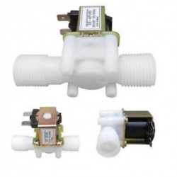 1/2 &quot N / C 12V DC mágneses elektromos mágnesszelep vízlevegő bemeneti áramláskapcsoló 1/2 &quot N / C 12V DC