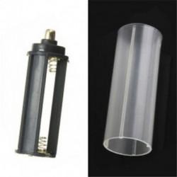 E-1PCS 18650 akkumulátorcső Hordozható műanyag elemtartó fedél tartó tároló doboz akkumulátorokhoz JP
