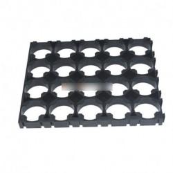 4 x 5 cella 18650 akkumulátorok távtartó sugárzó Shell műanyag hő tartó konzol