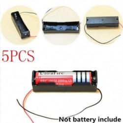 D-5db műanyag doboz DIY hordozható műanyag akkumulátor burkolat tartó tároló doboz akkumulátorokhoz