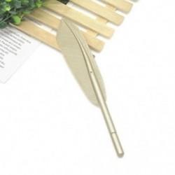 Arany 0,38 mm-es tollgél tollak Irodai iskolai hallgatók írószerek születésnapi ajándékok