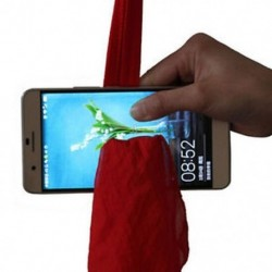 Magic Red Silk Thru telefon a közeli utcai mágikus trükk show eszközzel
