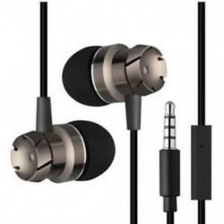 * 5 Fekete 3,5 mm-es fülhallgató mikrofon basszus sztereó fejhallgató fülhallgatóval