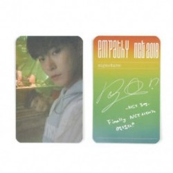 86 x 54mm-es Doyoung fotó autogrammal - LOMO kártya - KPOP - NCT - 1