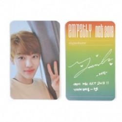 * 1 Jaemin KPOP NCT 2018 Hivatalos fotókártya fotókártya poszter Lomo kártyák tagjai Új