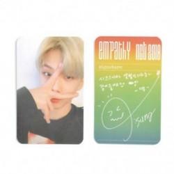 * 1 Jisung KPOP NCT 2018 Hivatalos fotókártya fotókártya poszter Lomo kártyák tagjai Új