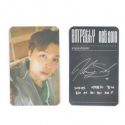 86 x 54mm-es Johnny fotó autogrammal - LOMO kártya - KPOP - NCT - 2