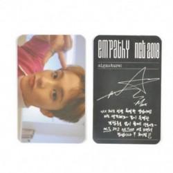 * 2 MARK KPOP NCT 2018 Hivatalos fotókártya fotókártya poszter Lomo kártyák tagjai Új