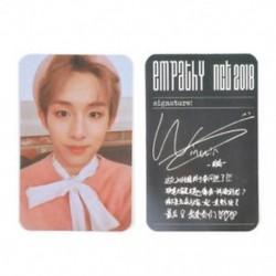 86 x 54mm-es Winwin fotó autogrammal - LOMO kártya - KPOP - NCT - 2