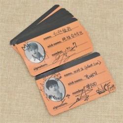 86 x 54mm-es 7db fotó autogrammal - LOMO kártya - KPOP - NCT - D verzió