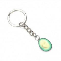 * 2 Avokádó szív alakú kulcstartók A legjobb barátok kulcstartói BFF kulcstartó élelmiszer ékszerek