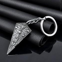 Divat ezüstcsillagok háborúja csillagmegőrző fém kulcstartó kulcstartó kulcstartó kulcstartó
