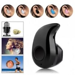* 1 Fekete Univerzális mini vezeték nélküli Bluetooth sztereó fejhallgató fülhallgató