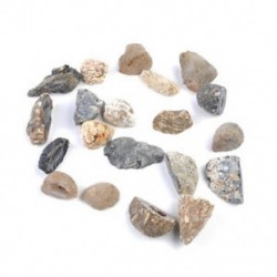 1-3.5cm 2Pc Agate Geodes Gyűjtemény Természetes kristályok felét gyógyító kő ékszer készítés