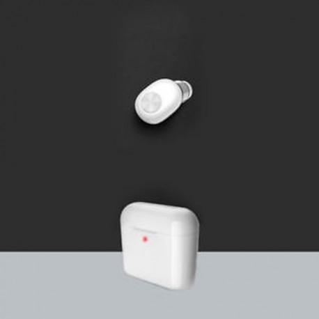 * 5 Fehér (Bluetooth 4.1) Vezeték nélküli Bluetooth Earbuds w / Mic True Bass ikrek Stereo In-Ear fülhallgató