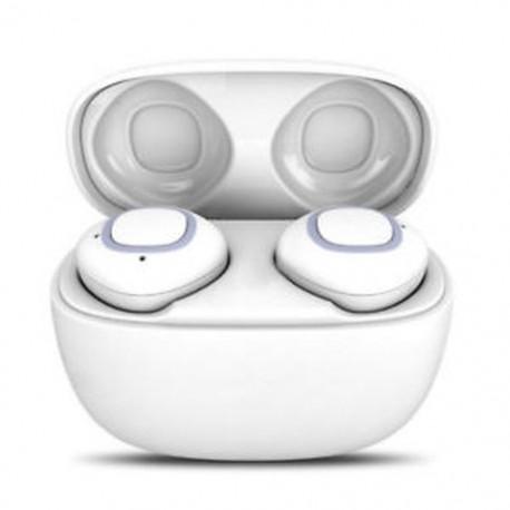 * 8 Fehér (Bluetooth 4.2) Vezeték nélküli Bluetooth Earbuds w / Mic True Bass ikrek Stereo In-Ear fülhallgató