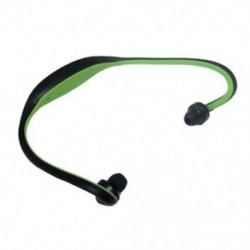 Zöld Univerzális sport Bluetooth vezeték nélküli sztereó fejhallgató fülhallgató kéz nélküli fejhallgató