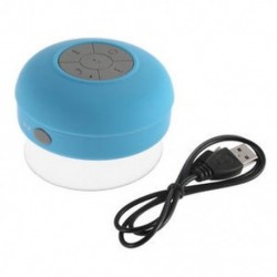 Kék Új vízálló Bluetooth vezeték nélküli hangszóró kihangosító mikrofon Mic szívó autó zuhany