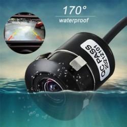 170 ° -os autó hátsó nézet kamera fordított biztonsági másolat parkoló éjszakai látás CMOS vízálló