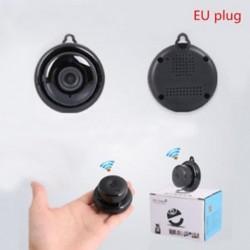 EU Plug Vezeték nélküli mini WIFI IP kamera HD 1080P intelligens otthoni biztonsági kamera éjszakai látás JP