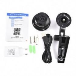 EU Plug 1080P vezeték nélküli mini WIFI IP kamera HD intelligens otthoni biztonsági kamera éjszakai látás JP