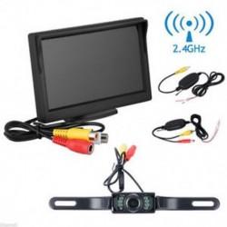 4.3 &quot monitor vezeték nélküli autó hátsó nézet rendszer biztonsági másolata fordított kamera éjszakai látás JP