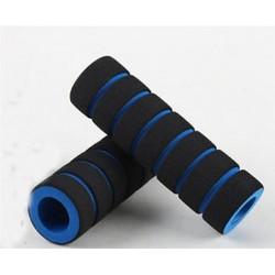 * 1 Kék 1 Pair Racing Bike Kerékpár csúszásgátló fogantyús bárhab Sponge Nonslip Grip Cover