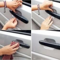 4db tiszta láthatatlan autós ajtó fogantyú védőfólia festék karcolásvédő