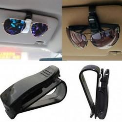 Univerzális autó automatikus napellenző szemüveg napszemüveg kártya jegy tulajdonosa Clip fekete
