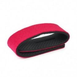 Piros Új elasztikus horgászbot nyakkendő pánt öv csatolás szalag pólus tartó tartozékok